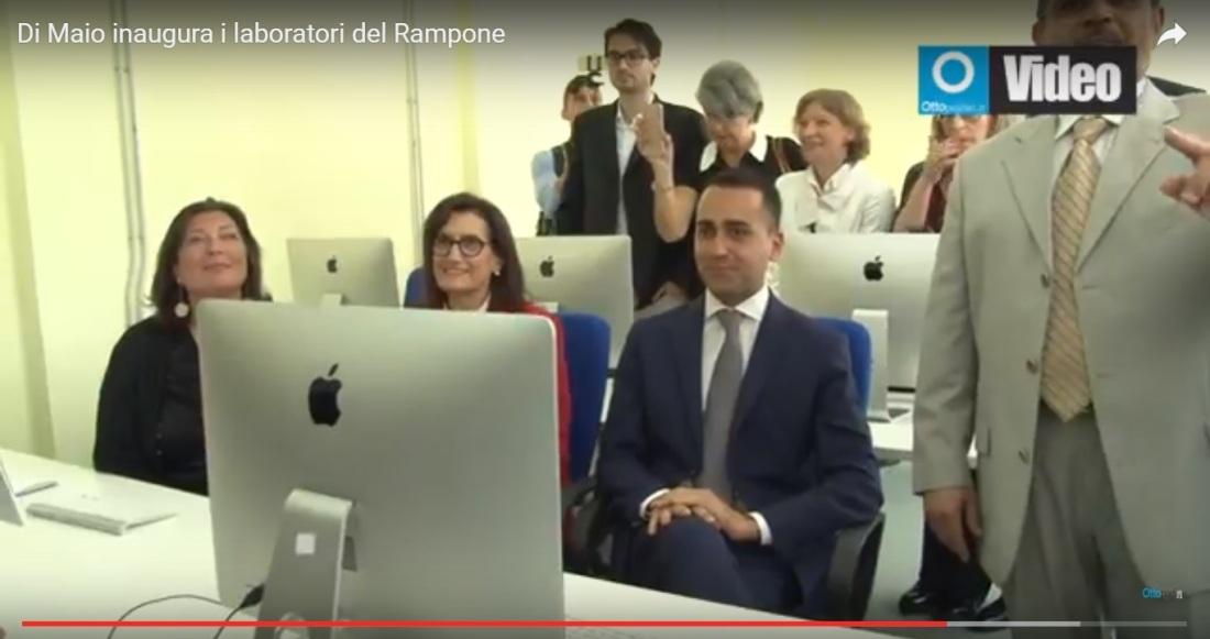 Di Maio Benevento laboratorio m5s Rampone